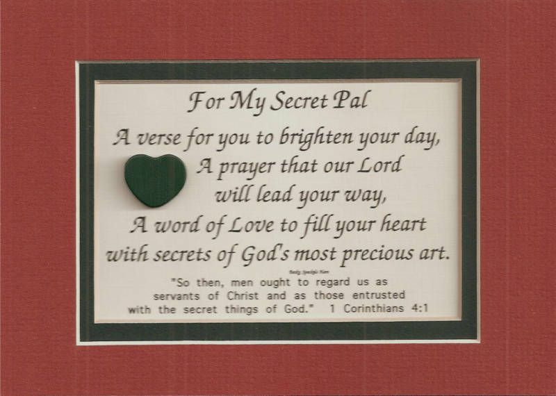 Secret Pal Sayings And Quotes QuotesGram