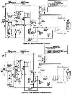 SHARP Microwave Oven schematic off Parts | Model R 22GT