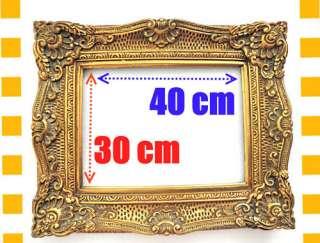 Barock Bilderrahmen Rahmen 40 X 30 30 X 40 In Antik Gold