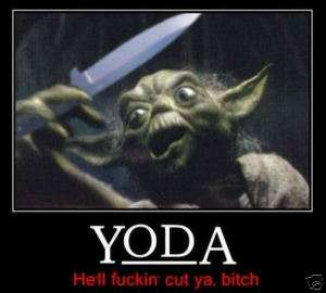 Star Wars Funny Yoda Quotes. QuotesGram
