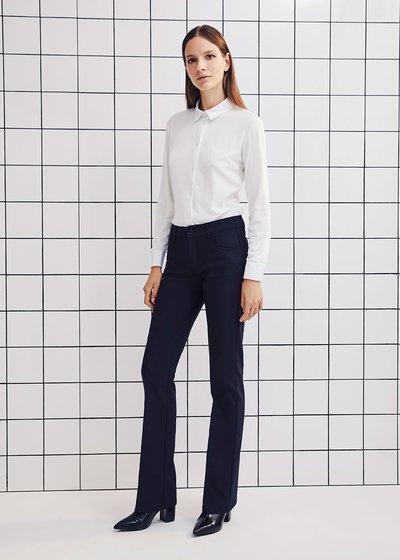 Camicia Carola in cotone - White - Immagine categoria
