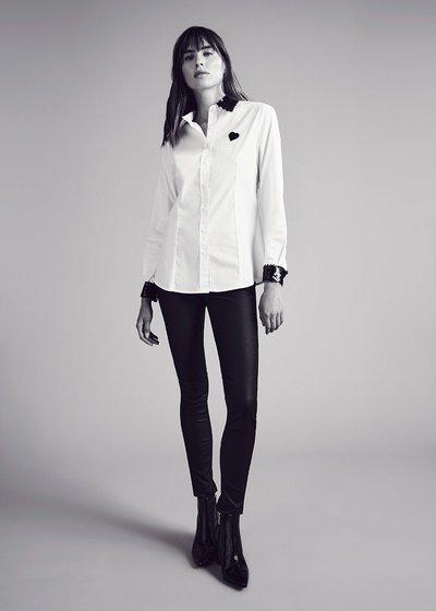 Camicia Camelia con dettagli paillettes - White - Immagine categoria