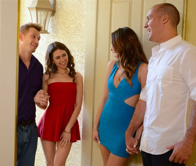 Melissa Moore And Riley Reid Fuck Big Cocks In The Kitchen Picture 09