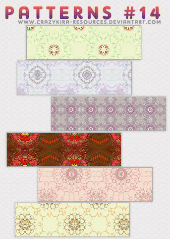 Patterns .14 by crazykira-resources