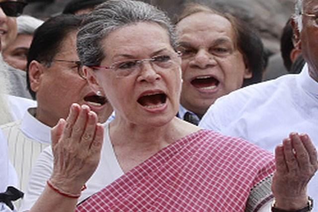 अरुणाचल में राष्ट्रपति शासन पर भड़की कांग्रेस, प्रणब से गुहार लगाएंगी सोनिया