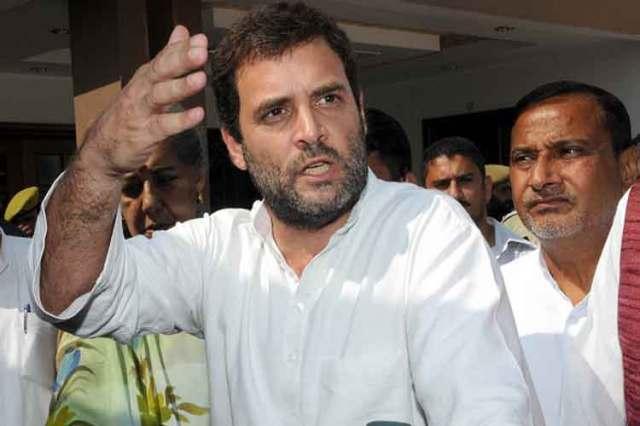दलित सम्मेलन में बोले राहुल गांधी, रोहित वेमुला को सरकार ने मारा