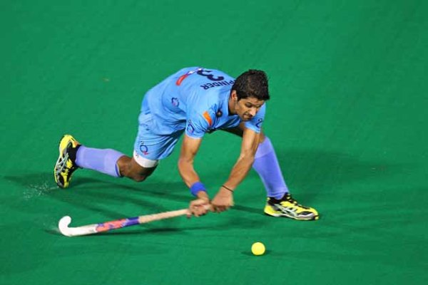 Indian hockey player Rupinder Pal Singh achieves 100 ...