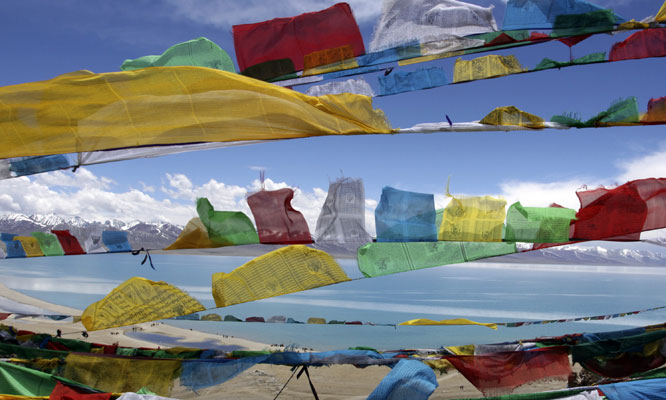 TIbet-Flags
