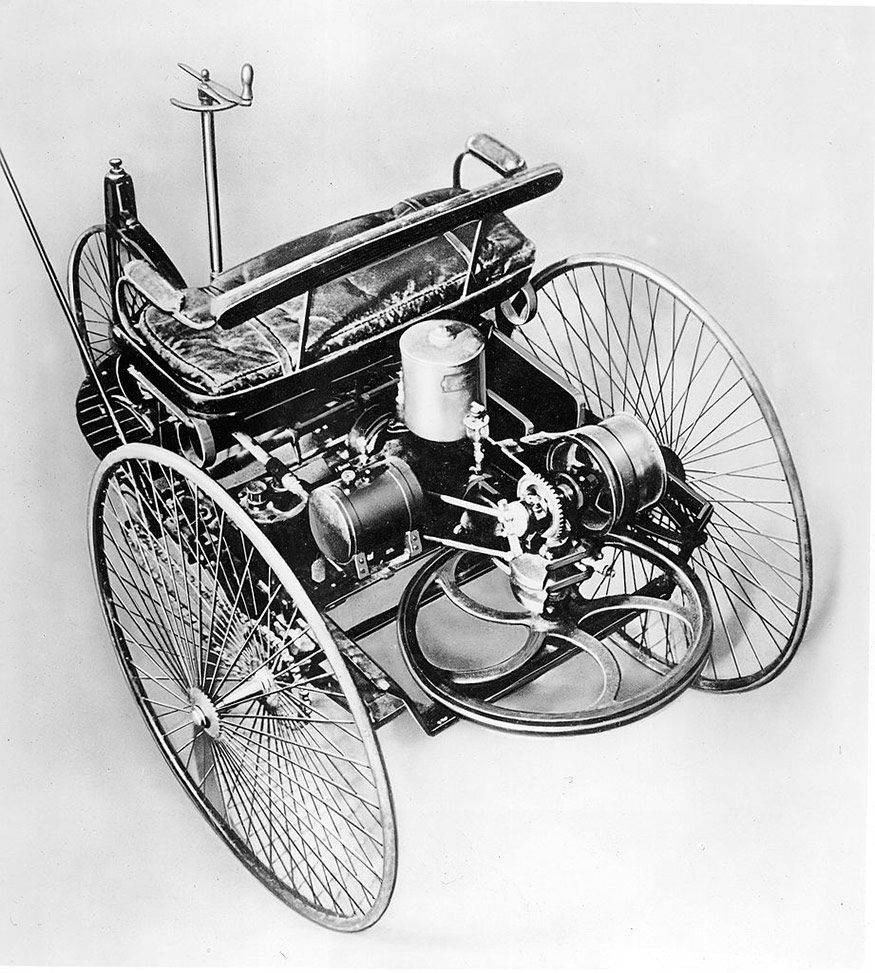 First Car Invented In The World