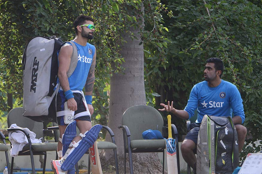 Virat Kohli and R Ashwin. (Getty Images)