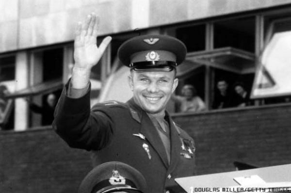 Pics 50 years since Yuri Gagarin went to space