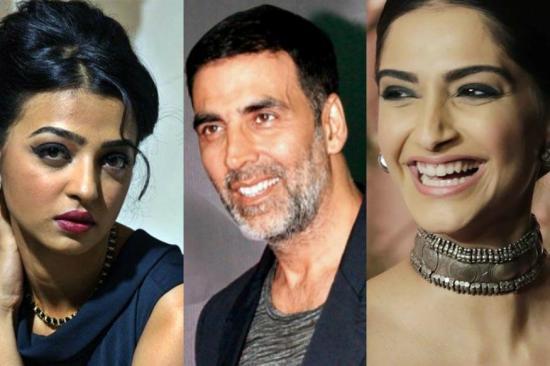 Radhika apte, Akshay Kumar & Sonam Kapoor