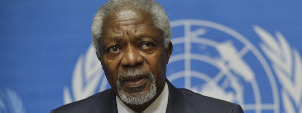 Annan pide la participación iraní al plan de paz para Sira