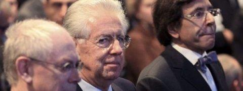 Monti plantea que la UE debata sobre el auge de los independentismos en Europa