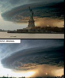 Sandy: Las redes sociales se llenan de imágenes falsas