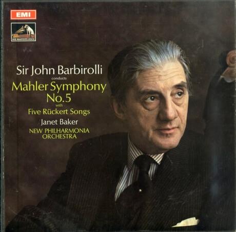 GB EMI ASD2518-9 バルビローリ マーラー・交響曲5番/リュッケルト歌曲集