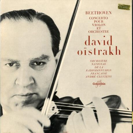 FR COL SAXF817 オイストラフ&クリュイタンス ベートーヴェン・ヴァイオリン協奏曲
