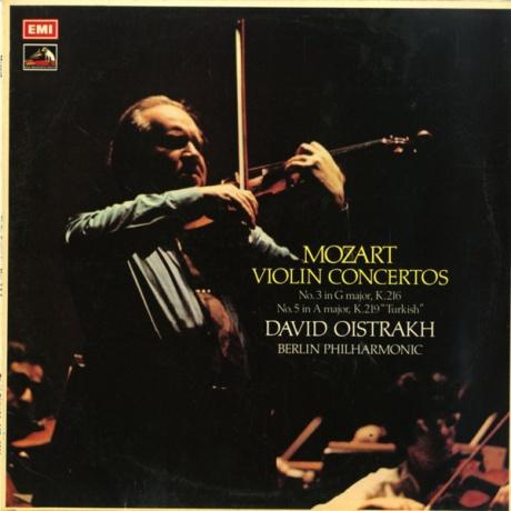 GB EMI ASD2988 オイストラフ モーツァルト・ヴァイオリン協奏曲3番/5番「トルコ風」