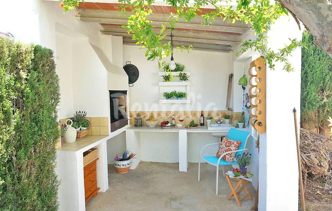 Bonita casa-jardín a 500m de la playa Tarragona