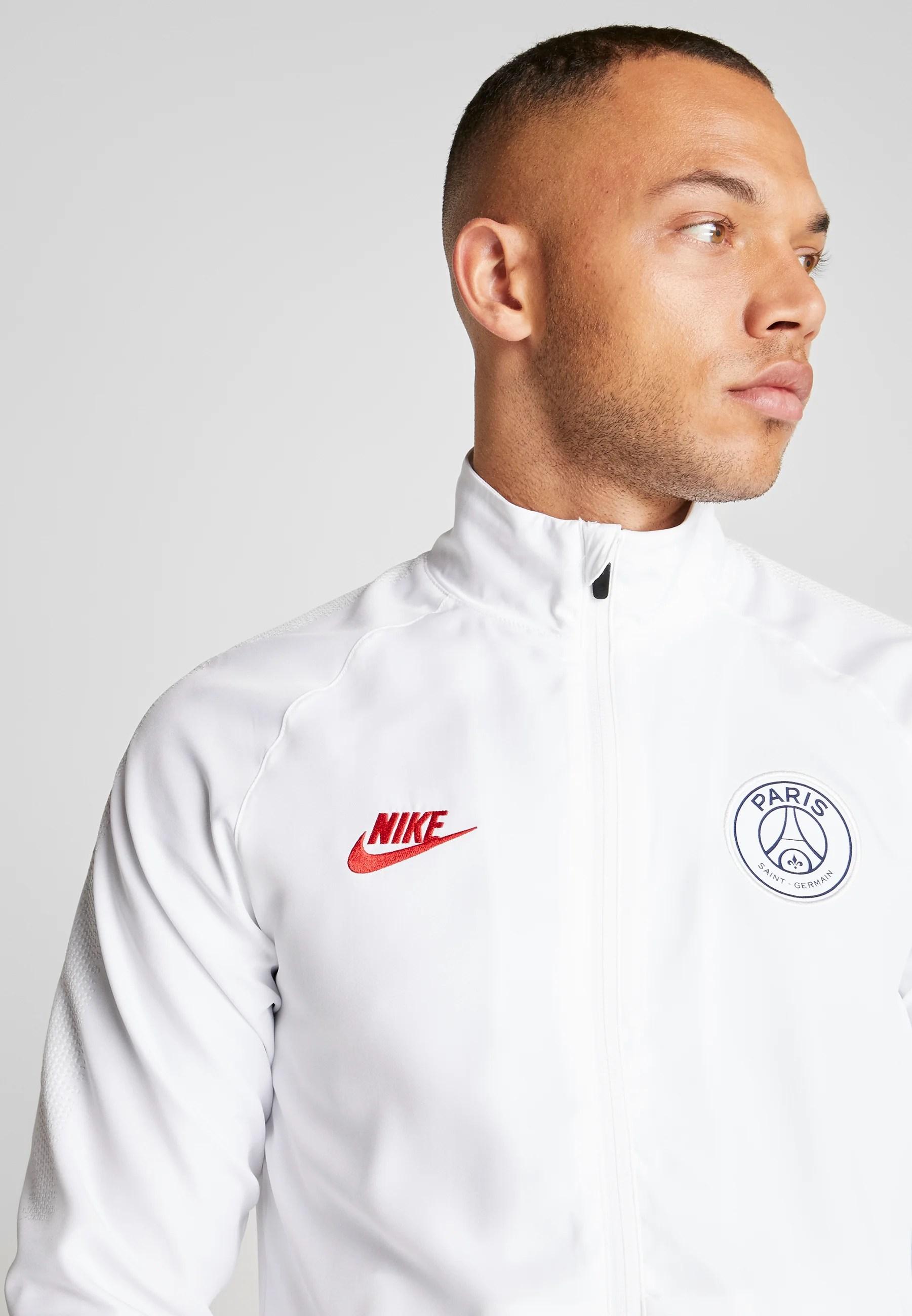 paris st germain dry suit set trainingsanzug white midnight navy pure platinum university red