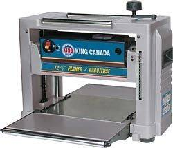 King Canada Tools KC 426C 12 1/2 PORTABLE PLANER 15amp woodworking