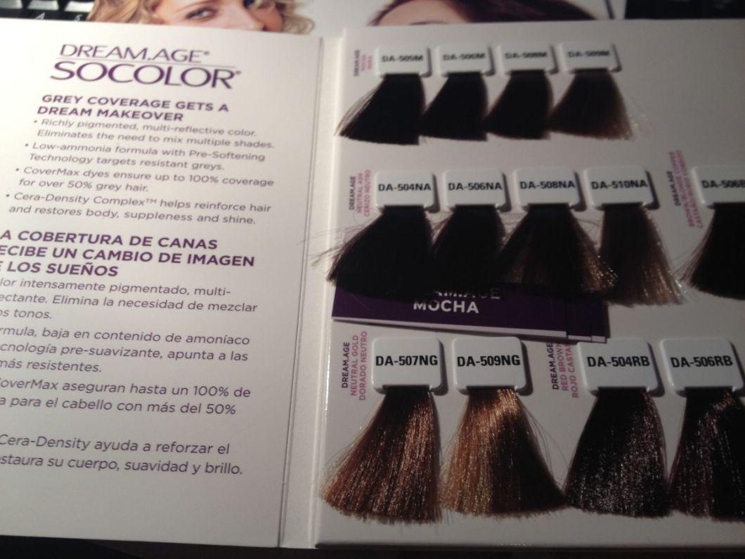 Matrix Hair Color Chart Mocha Hairstly