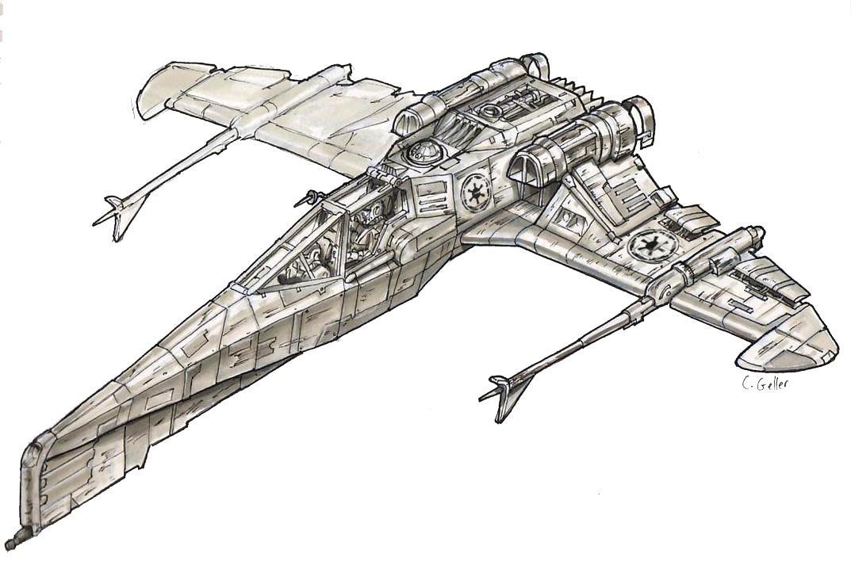 Imperial Star Wars Logo Render