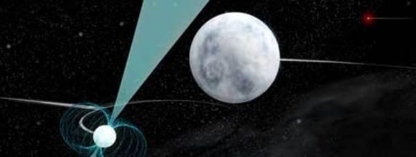 Un extraño trío de estrellas pone a prueba la teoría de la relatividad