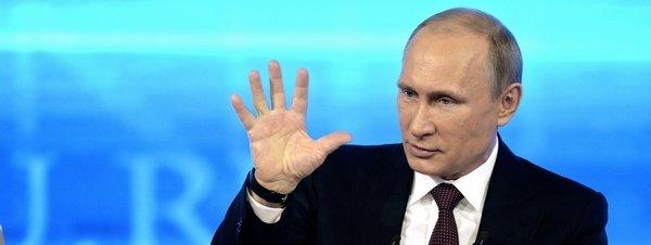 Putin niega la participación militar rusa en la sublevación en el este de Ucrania