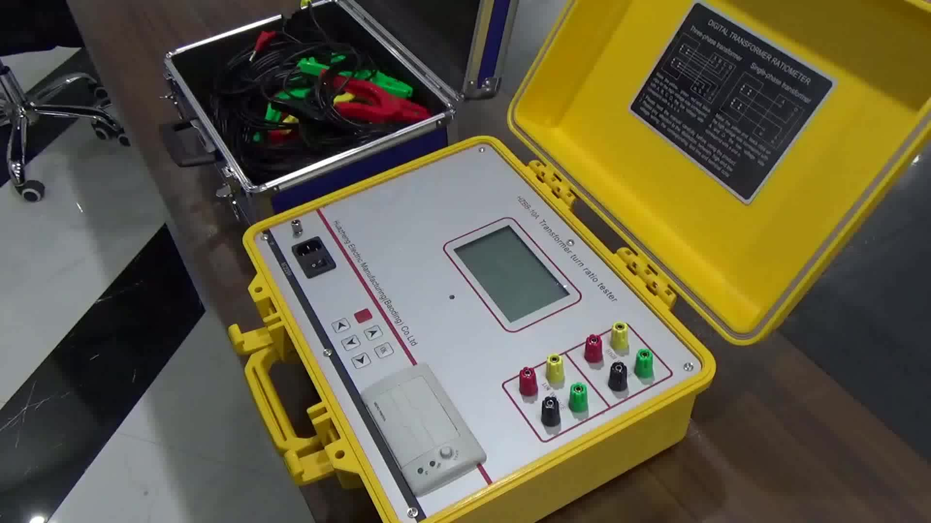 Ttr Tester Digital Transformer Turns Ratio Meter