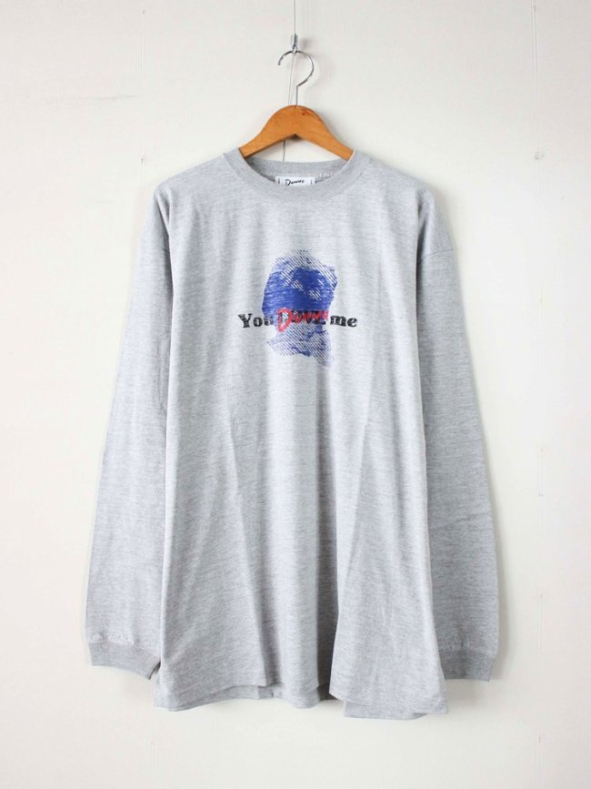 Dunno|Girl You Dunno me L/S Tee #GRAY