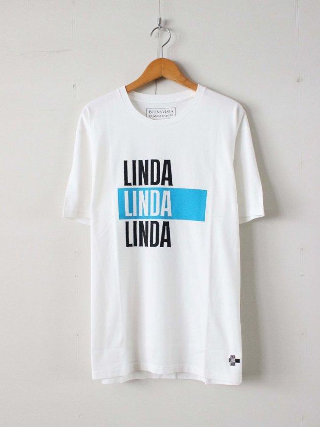 BUENA VISTA|LINDA TEE #WHITE