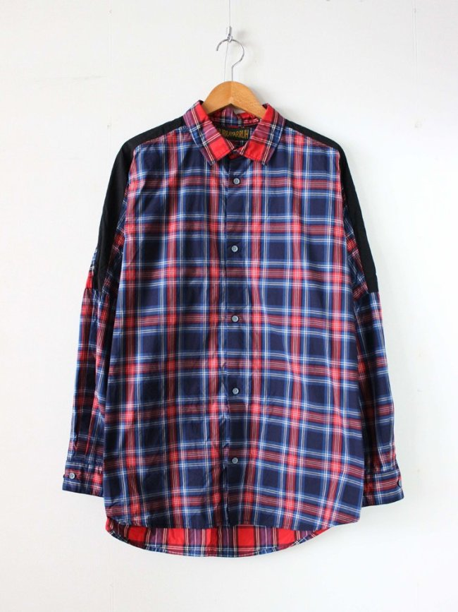 HURRAY HURRAY|MULTI CHECK L/S SHIRT #RED