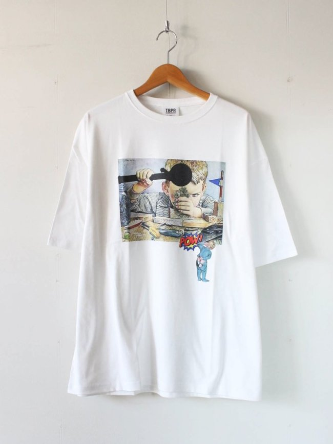 TIGHTBOOTH PRODUCTION DR.X T-SHIRT #WHITE [SS20-T05]