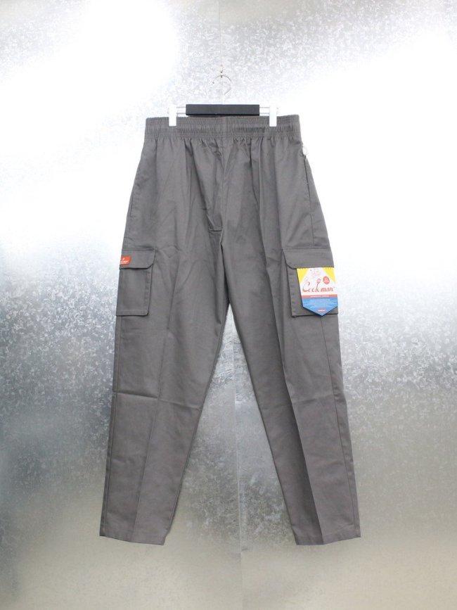 COOKMAN|CHEF CARGO PANTS #GRAY [231-01845]