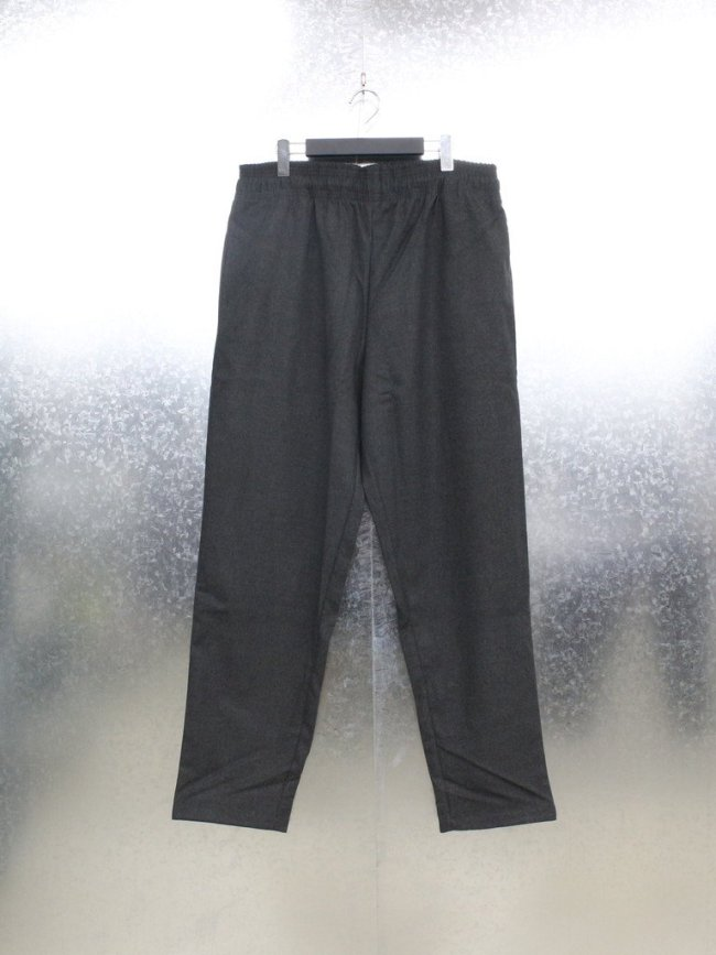 COOKMAN|CHEFS PANTS (FLANNEL) #CHARCOAL [231-13817]