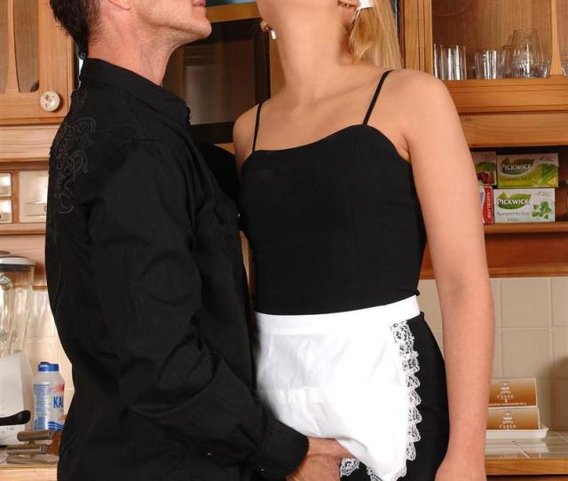 Zorah White Stunning French Maid Gets Fucked Picture