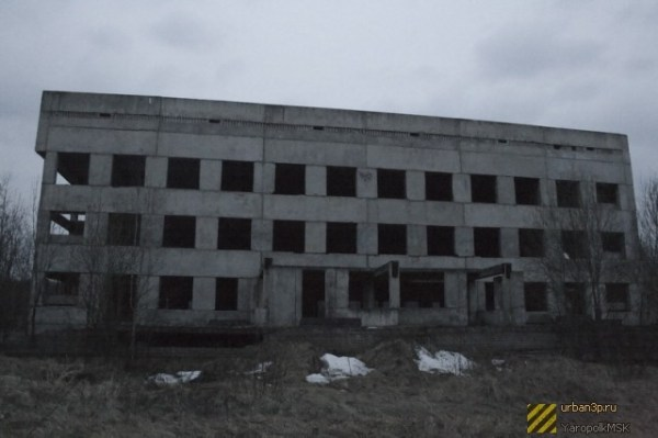 Недостроенный корпус ЦРБ (Кострома) / Стройки