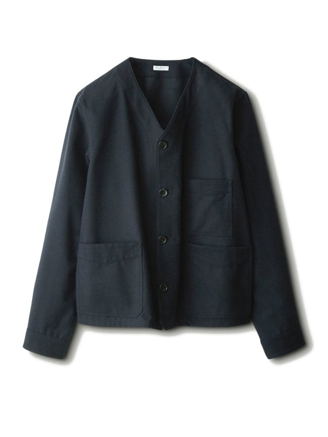 PHIGVEL MAKERS & Co.|C/W ENGINEER SHIRT JACKET #D.NAVY