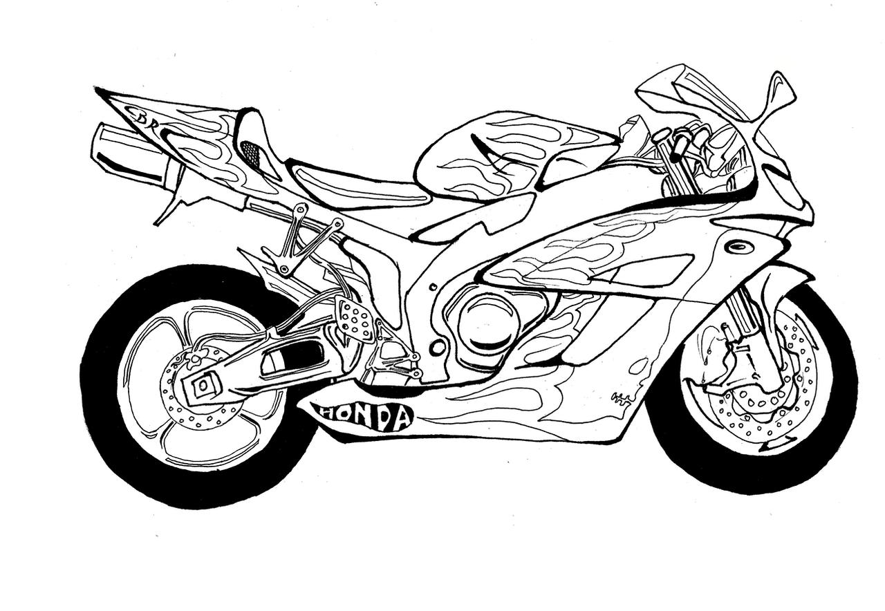 Honda Cbr Rr By Micro Bullet On Deviantart