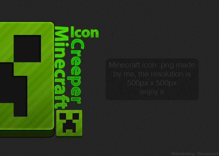 Icon 64x64 Minecraft Creeper