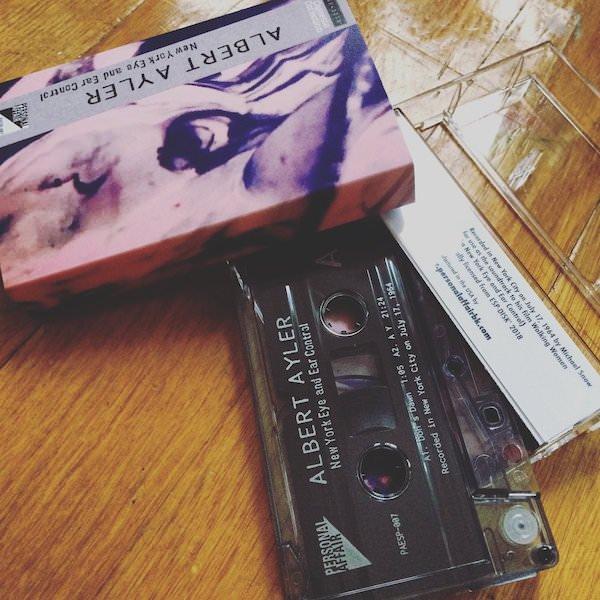 ALBERT AYLER / New York Eye and Ear Control (Cassette)