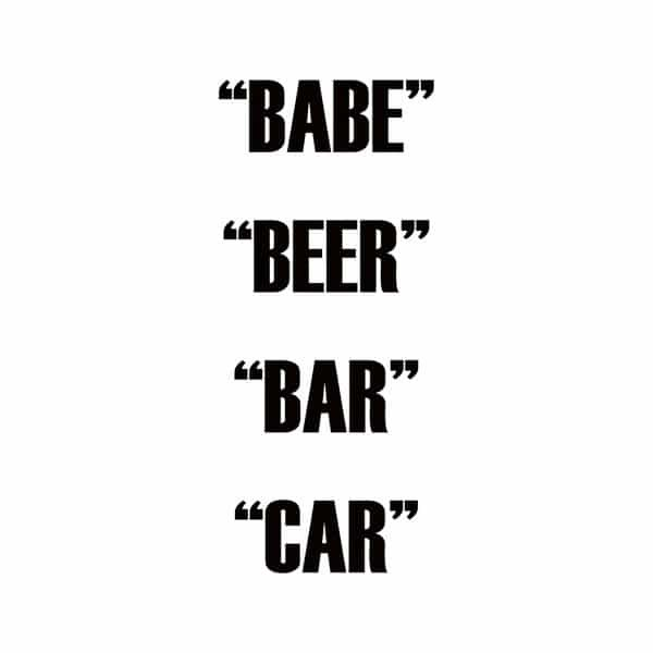 DUAL ACTION / Babe Beer Bar Car (2LP)