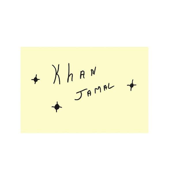 THE KHAN JAMAL CREATIVE ARTS ENSEMBLE / Drum Dance To The Motherland (LP)