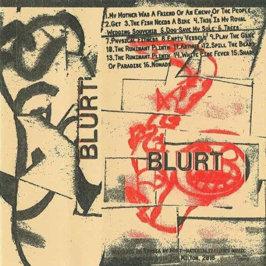 BLURT / Blurt/Singles (Cassette)