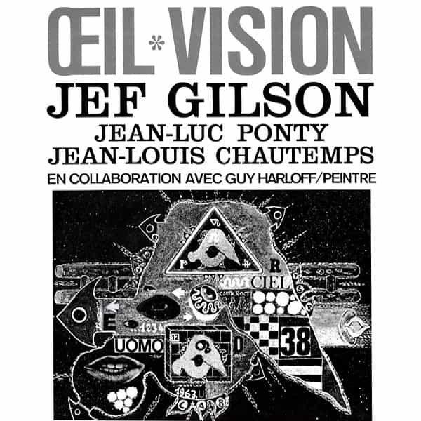 JEF GILSON / JEAN LUC PONTY / JEAN LOUIS CHAUTEMPS / Oeil Vision (LP)