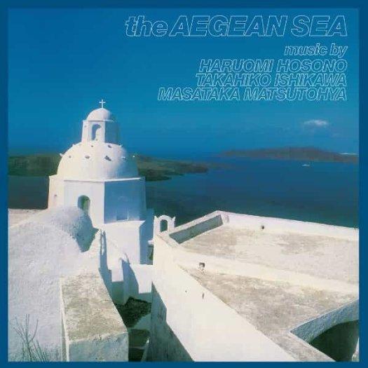 HARUOMI HOSONO, TAKAHIKO ISHIKAWA, MASATAKA MATSUTOYA / The Aegean Sea (LP)