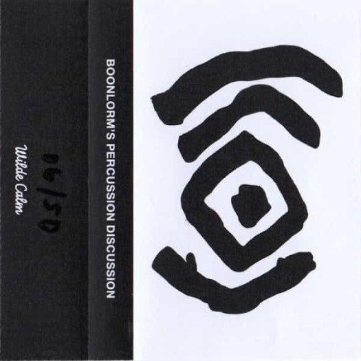 BOONLORM / Boonlorm's Percussion Discussion (Cassette)
