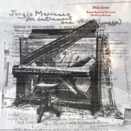 PHILIP CORNER / Through Mysterious Barricades with George Maciunas (LP)
