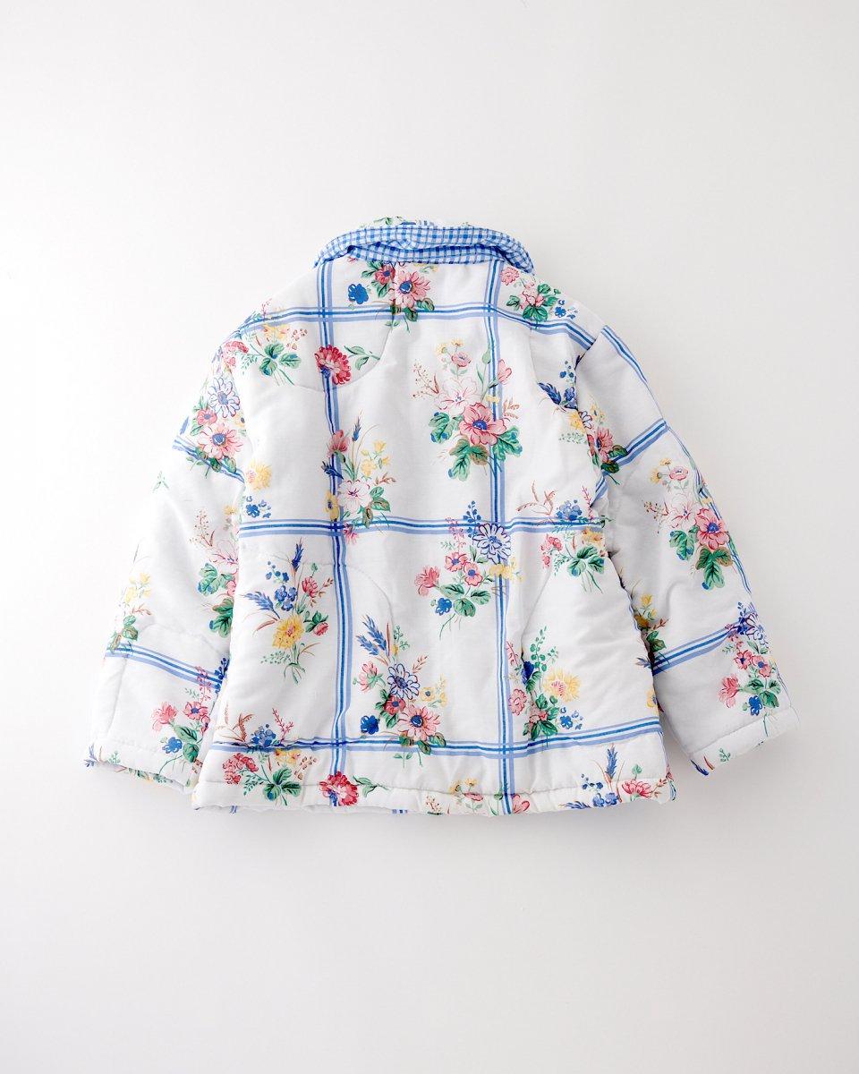 THE SERIES パフジャケット「花束とチェック柄と」の写真